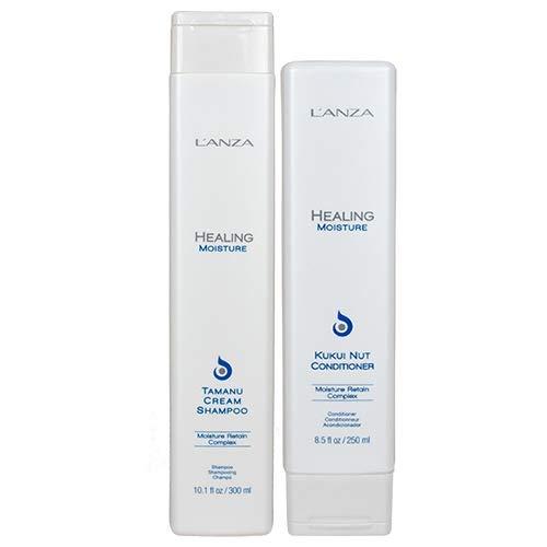L'ANZA Healing Moisture Shampoo 300 ml & Healing Moisture Conditioner 300 ml Duo