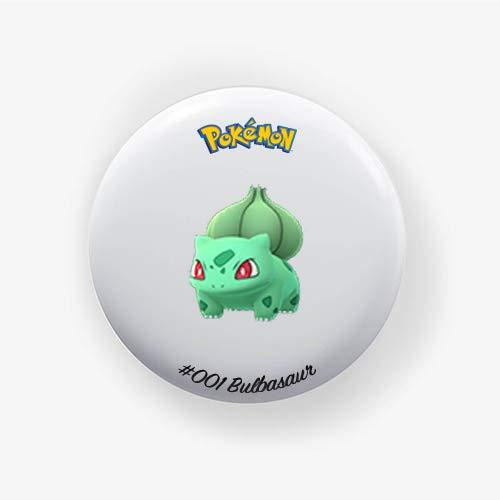 Badge à épingle à nourrice Bul : badge Pokémon Go, 38 mm