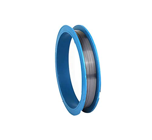 IQQI 99.95% Tungsten Fine Wire, 1Meter/Spool, Cleaned,Easy to Be Processed (1.0-1.5 mm),1.0mm/1m