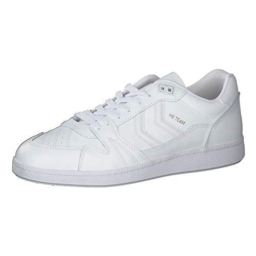 hummel Herren Hb Team Skater-Schuhe Sneaker Weiß 43 EU