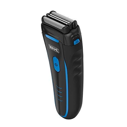 Wahl Groomsman - Maquinilla de afeitar eléctrica recargable, impermeable, para aseo sin...