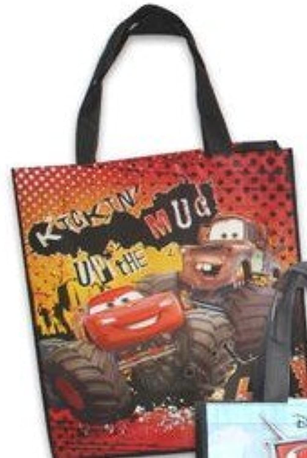 8-pack Pixar Cars Tote Bags (Large 16 x15 x7 ) AND 8 sheet Spiderman Stickers (3 x6 ) AND 8 Kooky Silicone Bracelets B00SGUB7KI | Spielen Sie Leidenschaft, spielen Sie die Ernte, spielen Sie die Welt