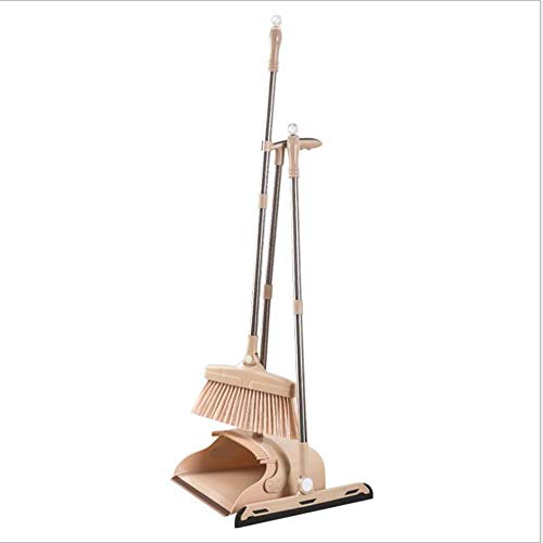 FTFDTMY Conjunto De Escoba Plegable, Limpiador De Barrido Escoba Resistente Al Viento Y Resistente para La Limpieza De Suelos Casa