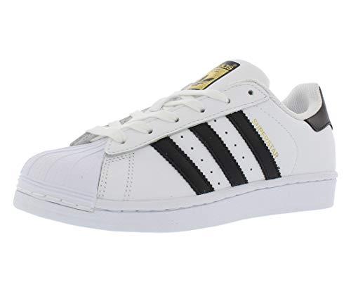 adidas Originals Superstar, Scarpe da Ginnastica Donna, Nero/Bianco/Oro Metallizzato (Core Negro Blanco Oro Metálico), 42 EU