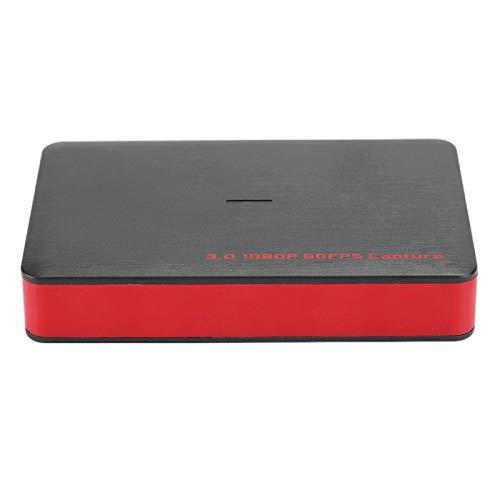 TAKE FANS Caja de Captura de Video - Chip Personalizado USB3.0 1080p 60fps Captura UVC HDMI Equipo de Caja de Captura de Video de Alta definición