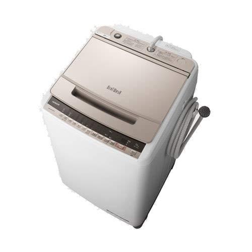 日立 10.0kg 全自動洗濯機 シャンパンHITACHI ビートウォッシュ BW-V100E-N