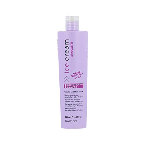 INEBRYA SHECARE SHAMPOOING reconstruisant le CELLULES SOUCHES D'UVA 300 ml