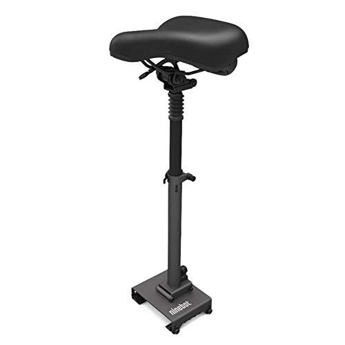 TOOSD Scooter eléctrico, Scooter para Adultos ES1 ES2 Ninebot No. 9 Plegable portátil de Dos Ruedas, Velocidad hasta 25 Km/H, batería 187WH, Pantalla LED Digital, Carga de 100 Kg, monopatín,Seat