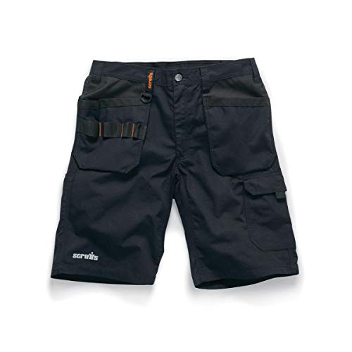 Scruffs T54658 Trade Flex Holster Shorts Black 36W