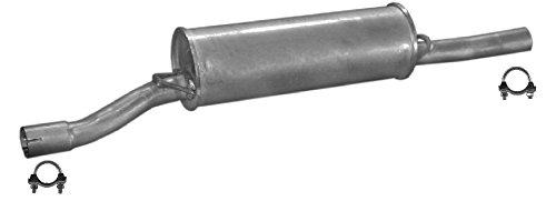 ETS-EXHAUST 50289 Mitteltopf Auspuff + Anbauteile (für C25 1981-1994 / DUCATO 1980-1994 / J5 1981-1994)