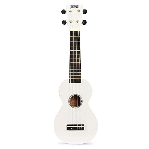 Mahalo MR1wt - Ukelele Soprano, color blanco