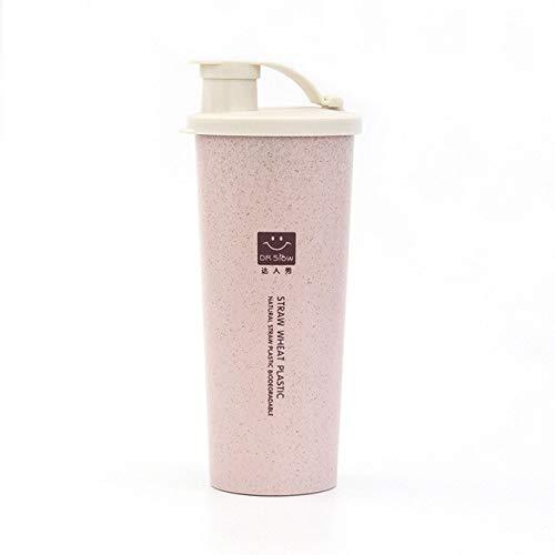 Bruce Dillon 450ml Protein Powder Shaker Water Bottle Free Blender Exercise Fitness - 0.45L,Blue