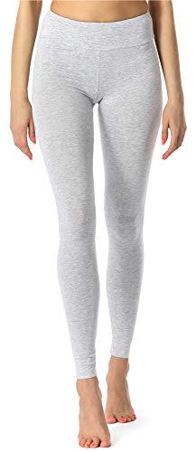 Merry Style Damen Lange Leggings Fitnesshose aus Viskose MS10-221 (Melange, S)