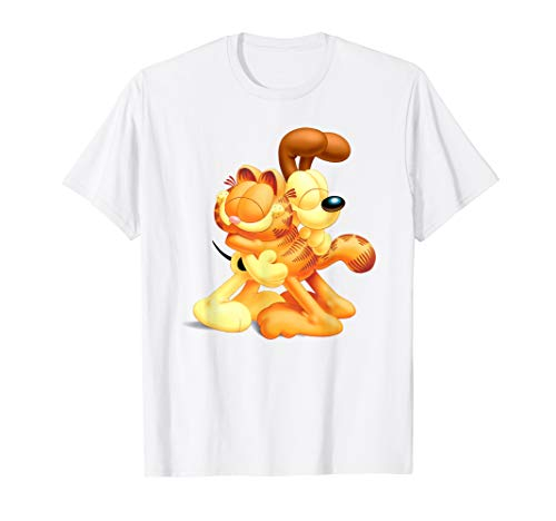 Garfield Garfield & Odie Hugging 3D