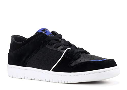 Nike Sb Zoom Dunk Low Pro Qs 'Soulland' - 918288-041 - Size 10 Black, Game Royal-White