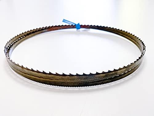 3 cintas de sierra SBM con dentado en el lomo, 1390 x 8 x...