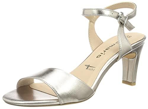 Tamaris Damen Sandalette 1-1-28008-26 944 Rosegold normal Größe: 36 EU
