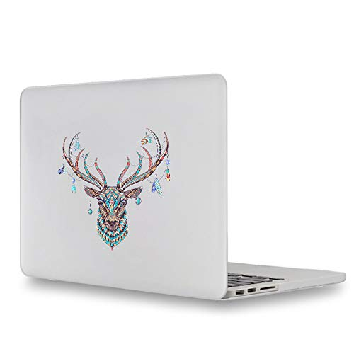 The Gold of Deer Laptop Decal for Apple Macbook Sticker Pro Air Retina 11 12 13 15 inch Mac HP Dell Mi Notebook Chromebook Skin-For Macbook 15 inch-