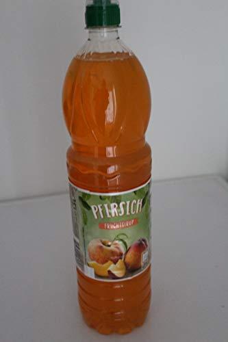 6 Flaschen Spitz Sirup Fruchtsirup 1,5 Liter (Pfirsich)