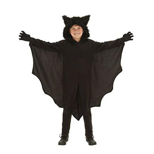 THEE Disfraz de murciélago de Vampiro para Mujer, poliéster, Negro, Medium