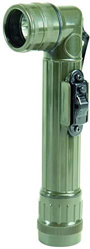 Mil-Tec Medium LED Anglehead Flashlight (Olive)