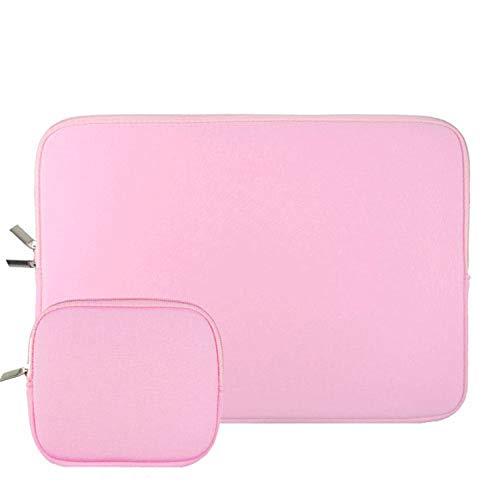 Custodia per tablet portatile 11 12 13 15,6 pollici Notebook per MacBook per Lenovo Acer per Dell per Asus per Hp per Ultrabook Sleeve Pouch, rosa chiaro (Rosa) - y-SPVh6yxXf_p6CI9yFQ7Q
