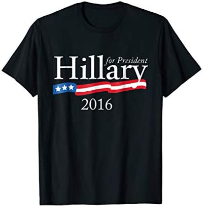 Mens Hillary Clinton Election 2016 President T Shirt product image