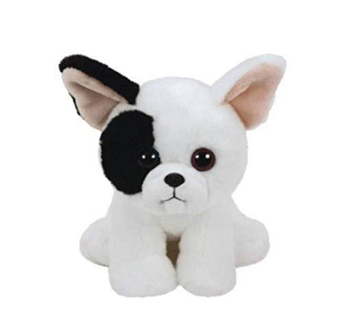 Lindo Juguete De Peluche para Perros En Blanco Y Negro De 15 Cm, Muñeca De Perro Kawaii, Juguetes De Peluche para Niños, Regalos para Niños