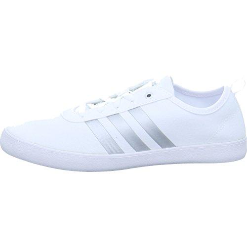 Adidas Qt Vulc 2.0 W, Zapatillas de Deporte para Mujer, Blanco (Ftwbla/Plamet/Aerorr 000), 44 EU