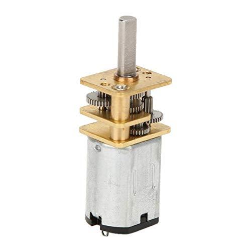 Reducción de velocidad Motor de caja de cambios Motor eléctrico de gran torsión Caja de cambios de metal Motor de engranajes Motor de(60RPM)