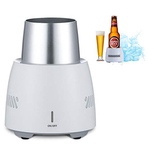 The perseids Enfriador portátil Vaso de enfriamiento rápido de aleación de aluminio blanco 4.96 Zoll x 3.93 Zoll