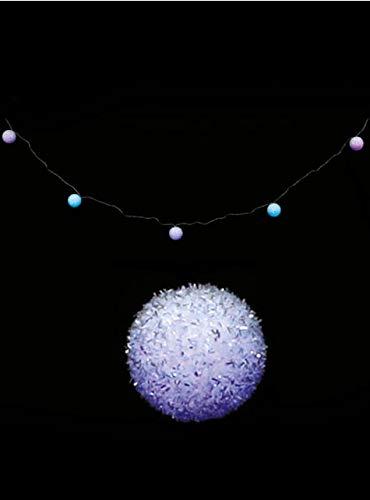 Blauwe Kerstbal Licht Slinger