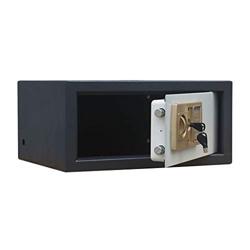 YOT Caja de Seguridad Caja de Seguridad Digital Cerrojo Cerrador electrónico Pequeño Metal Safe Safe Bank Caja Seguridad Caja Fuerte
