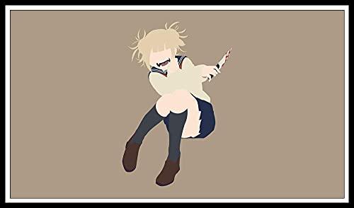 DIY pintura diamante 5d kit completo adultos/infantil,5d diamond painting anime kit completo,diamante arte,pintura de diamantes anime japonés,Himiko Toga minimalist My Hero Academia Himiko Toga