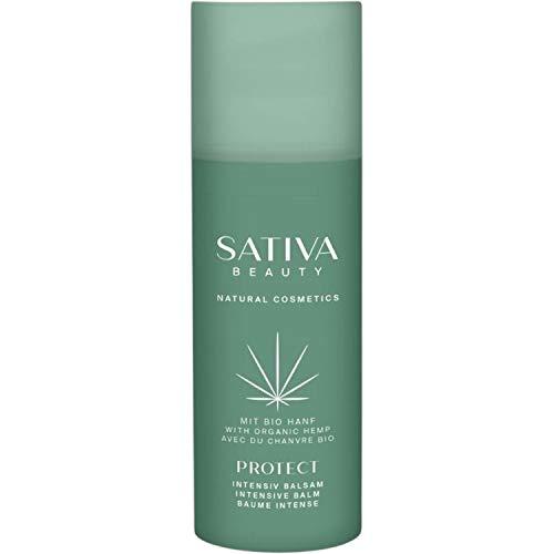 Natural & Organic Hemp Based PROTECT Vegan Intensive Balm - Fragrance Free - An Intensely Nourishing Powerful Boost for Irritated Skin - 50ml