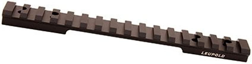 Leupold, Backcountry Cross-Slot 1 Piece Base, Tikka T3/T3x, Matte Black