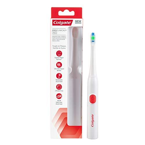 Cepillo de dientes de batería Colgate ProClinical 150 suave, limpieza avanzada y delicada