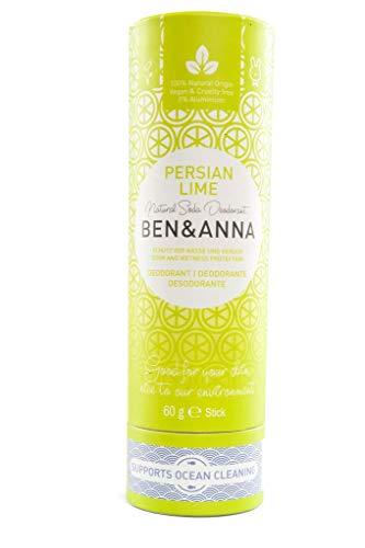 Ben & Anna Soda Deodorant, Persische Limette, 1 x 60 g