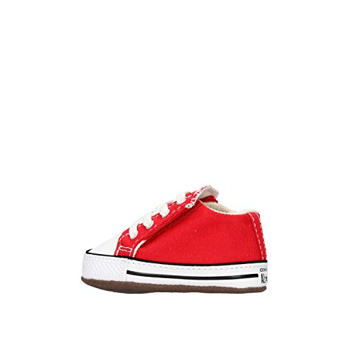 Converse Unisex Baby Chuck Taylor All Star Sneaker, University Red, 20 EU