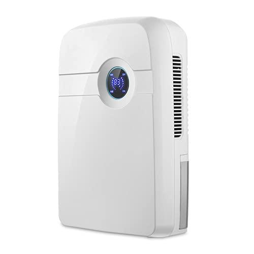 yzf Deumidificatore con Display Digitale dell'umidità, deumidificatore Elettrico da 2500 ml, umidità costante Intelligente, scongelamento,