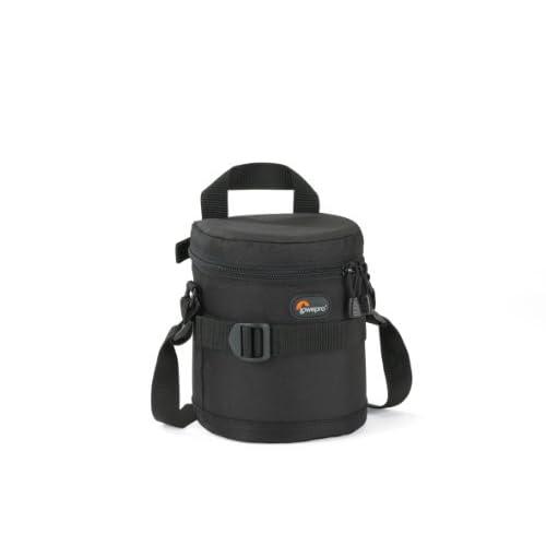 Lowepro Borsa per Fotocamera Lens Case, 11 x 14 cm, Nero