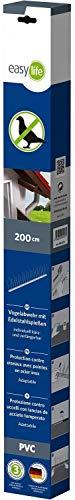Easy Life Lot de 2 grilles en acier inoxydable - 60 x 120 cm - Pour puits de lumière
