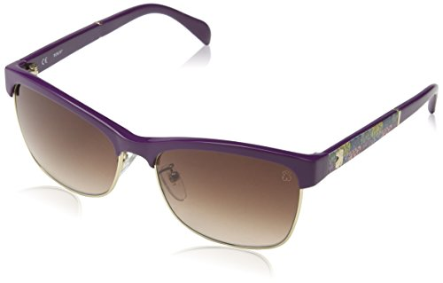 TOUS STO907-570T33 Gafas de sol, Rubberized Olive, 57 para Mujer