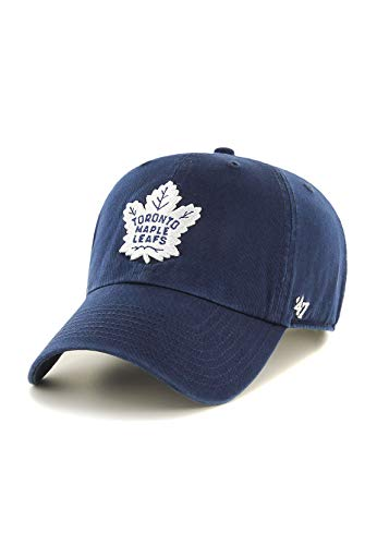 47Brand Clean Up Cap Toronto Maple Leafs H-RGW18GWS-LN Blau, Size:ONE Size