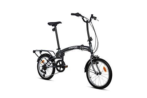 Moma bikes Compact 18 Gris, BICMP18GUN Unisex-Adult, Grigio, Standard