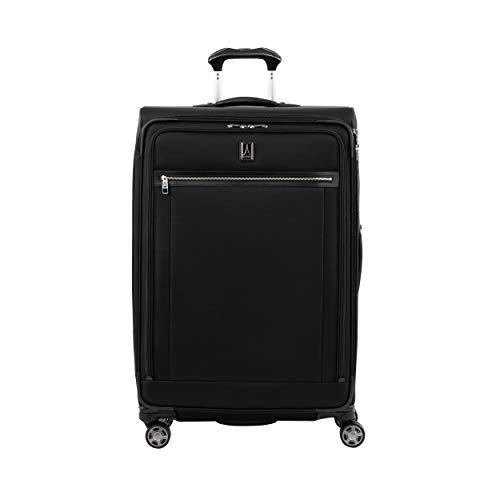 Travelpro Platinum Elite Extra Großer Weichgepäck Spinner Koffer 4 Rollen 83x53x34 cm Erweiterbar Langlebig mit TSA Schloss 144 Liter Nylon Reisegepäck 10 Jahre Garantie XL