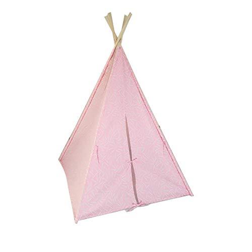 YYFZ Kinderzelt Tragbares großes Prinzessinnenschloss Zelt Innenzelt für Kinder Outdoor Kinder Spielzeug Tipi Dekoration