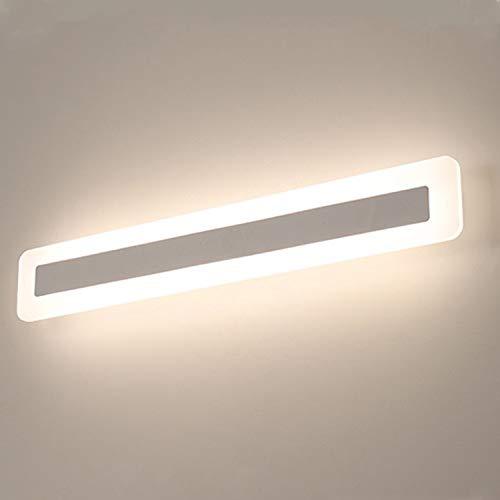 Yafido LED 14W Badleuchte 900Lumen 40CM 230V 4000K IP44 Spiegelleuchte Badlampe Spiegellampe Neutralweiß Badezimmer Schrankleuchte Wandlampe Wandleuchte