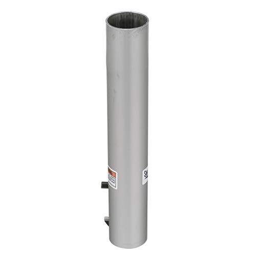 Attwood 238615-3 238 Series Extension Post, 15 Inches Tall, Fixed Height Post, Meets ABYC Code AO Standards