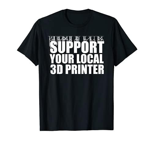 Impression 3D drôle de tshirt d'imprimante 3D de résine Pun T-Shirt